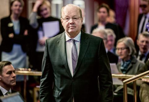 Vd:n Anders Nyrén sitter löst efter det uppdagats att även han är inblandad i SCA-härvan. Bild: TT