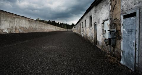De kvinnliga fångarna i Ravensbrück kom från fyrtio länder. De bestod av olika kategorier: politiska fångar, judar, romer, Jehovas vittnen med flera. Nästan en tredjedel av kvinnorna, 46000, kom från Polen. Bild: Jörgen Johansson