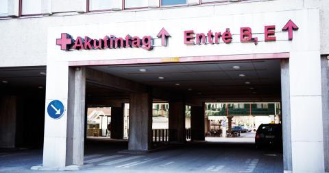 En klinik där ett stort antal akuta patienter måste beredas utrymme har möjlighet att via vårdslussen hänvisa patienter till en annan vårdgivare.  Bild: Fredrik Sandberg/TT