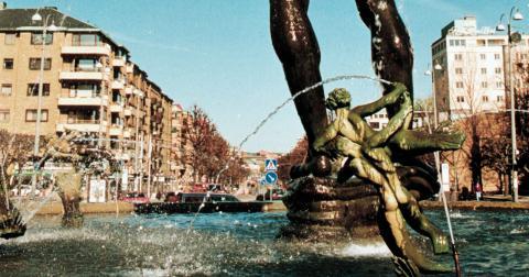 """""""Göteborg är Sveriges öppna framsida, porten mot världen där ute och handelsplatsen. Det skapar öppenhet och möjligheter. Det skapar tolerans."""" Bild: Hans T Dahlskog/TT"""