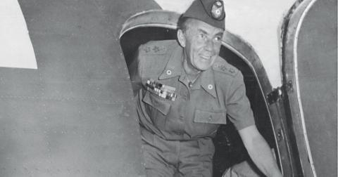 Folke Bernadotte gjorde under andra världskriget stora humanitära insatser. Bild: TT