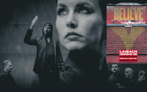Laibach är det första västerländska band att få uppträda i Nordkorea, bland annat ska de spela låtar från musikalen Sound of Music. Uppträdandet sammanfaller med 70-årsjubiléet av Nordkorea som stat. Bild: Laibach/AP