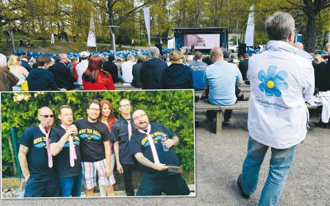 Bilder: Anders Wiklund/TT och Inte rasist men