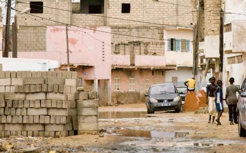 Thiaroye-sur-Mer är en ort vid kusten i utkanten av Senegals huvudstad Dakar.  Bild: Rebecka Bülow