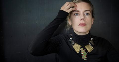2008 vann Annika Norlin grammisar för sina texter och sedan har grammisnomineringarna följt nära nog varje släppt skiva.  Bild: Jessica Gow/TT