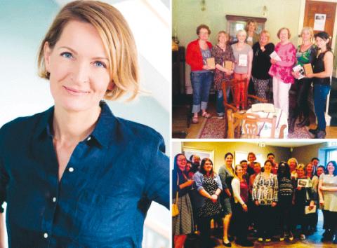 Sophie Walker är tillfällig partiledare för nybildade Women's Equality Party. Partiets mål är att komma in i brittiska parlamentet 2020. Bilder: Press och Twitter