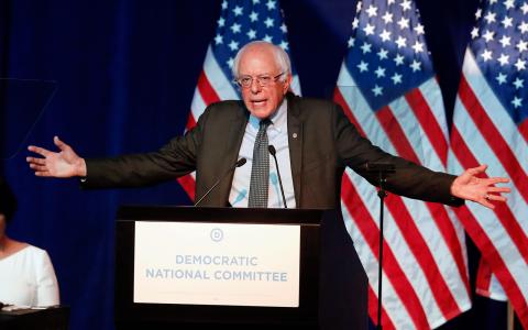 Bernie Sanders. Bild: Jim Mone/AP
