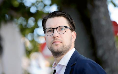 Jimme Åkesson. Henrik Montgomery/TT
