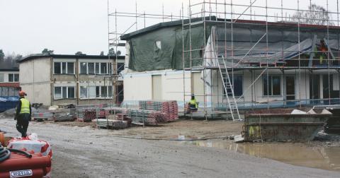 Fortsätt renovera i stället för att använda vinsterna till andra projekt i kommunen, menar debattör. Bild: Pontus Kinnander