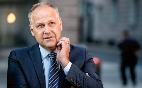 Vänsterpartiets partiledare Jonas Sjöstedt. Bild: Jessica Gow/TT