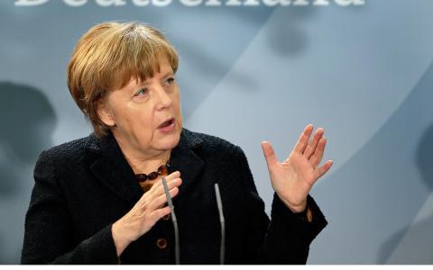 Tysklands förbundskansler Angela Merkel. Bild: Michael Sohn/AP