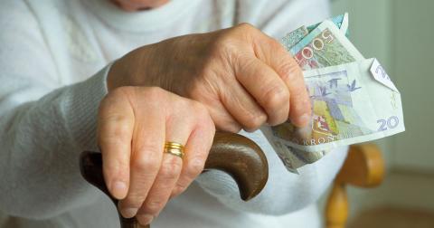 """""""Med flexpensionen bygger vi på pensionssystemet där den allmänna pensionen brister"""", skriver debattörerna.  Bild: Leif R Jansson/TT"""