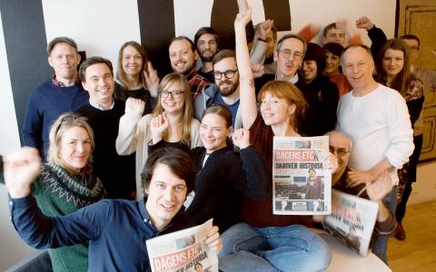 Dagens ETC ökar mest i svensk press.