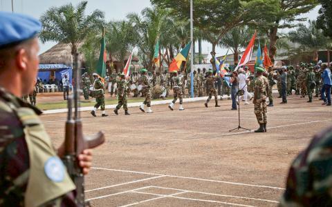 FN-trupper i Centralafrikanska republiken. BIld: AP
