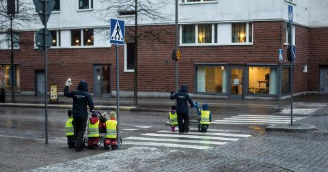 """""""Ett jämställt arbetsliv är en förutsättning för ett jämställt liv"""", Torun Boucher (V). Bild: Anders Ahlgren/SvD/TT"""