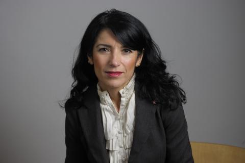 Amineh Kakabaveh – får hon vara kvar i Vänsterpartiet? Bild: Henrik Montgomery/TT