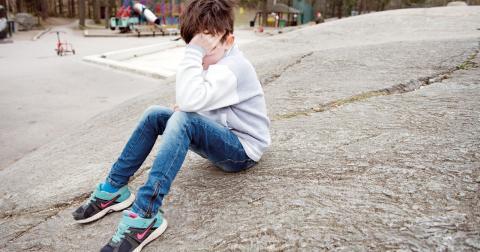 """""""Tidigt omhändertagande vid psykisk ohälsa ger bättre prognos att hantera psykiska besvär och att undvika att utveckla psykisk sjukdom i vuxen ålder"""", skriver debattörerna. Bild: Jessica Gow/TT"""
