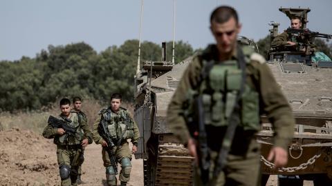 Israelisk militär. Bild: Tsafrir Abayov/AP