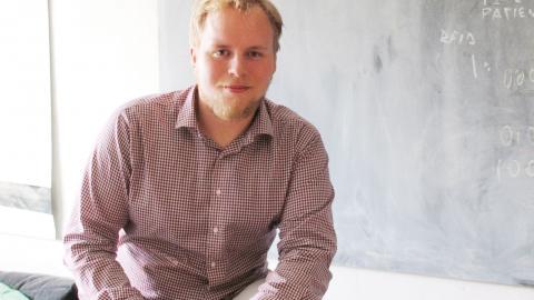 """""""Mina kunskaper om klimatet har inte bara påverkat mitt sätt att leva, det har format hela min livsstil"""", säger Filip Lövström, student och aktivist från Östergötland. Bild: Privat"""