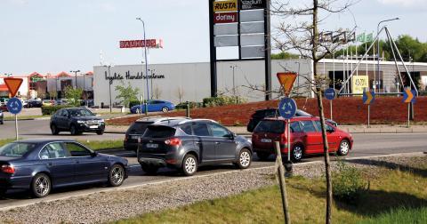 I Ingelsta finns planer på att bygga en cykelbana.  Bild: Anna Mi Skoog