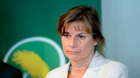 Isabella Lövin (MP). Bild: Jessica Gow/TT