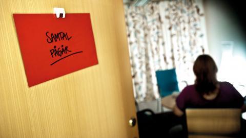 """""""Vi ser ett behov av en övergripande strategi för ett elevhälsoarbete som samspelar med visionen om ett sammanhållet Stockholm"""", skriver debattörerna.  Bild: Yvonne Åsell/SvD/TT"""