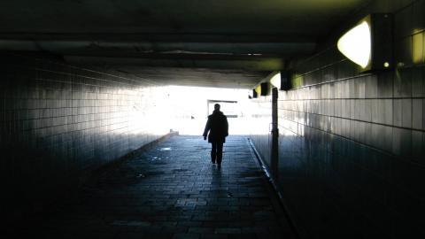 """""""Saker som du kanske kan ta för givet, som att åka och handla eller att träffa vänner, är något som jag fick kämpa för"""", skriver Torbjörn Svensson.  Bild: Hasse Holmberg/TT"""