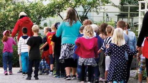 """""""Nyckeln är en skola som låter alla få ett värdigt liv och en likvärdig möjlighet att lyckas i livet"""", skriver Pär Träff.  Bild: Hasse Holmberg/TT"""