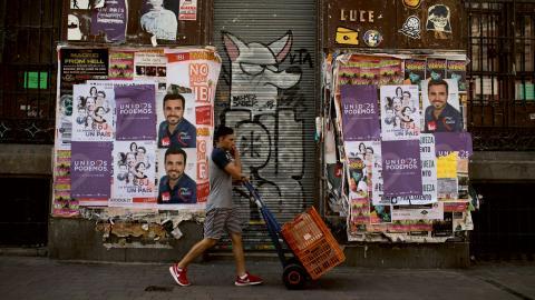Över fyra miljoner spanjorer är arbetslösa och många väljare anser att det är landets största problem. Bild: Francisco Seco/ap