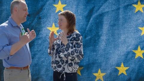 EU-valet i Storbritannien har väckt EU-kritiken till liv.  Bilder: Bertil Ericson/TT och CC0 Public Domain/pixabay