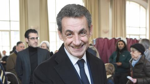 Frankrikes före detta president, Nicolas Sarkozy, är sedan tidigare dömd till tre års fängelse för korruption. Bild: Eric Feferberg/TT