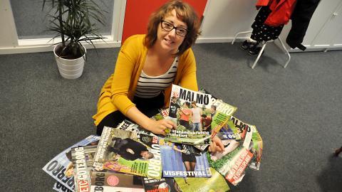 Ulrika Lindahl, ansvarig för redaktionell utveckling gällande ETC:s satsningar på lokaltidningar. Bild: Mirja mattsson