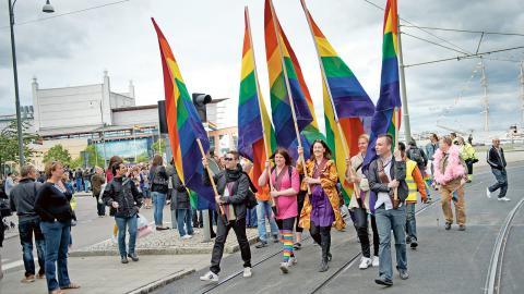 Flera separatistiska forum i Sverige växer. Ett sådant är RFSL:s verksamhet Egalia, en mötesplats för hbtq-ungdomar mellan 13 och 19 år i Stockholm. Bild: Björn larsson Rosvall/TT