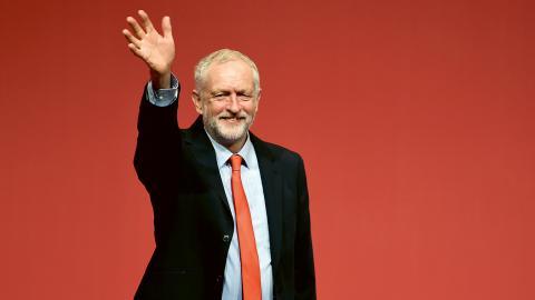 Jeremy Corbyn. Bild: Danny Lawson