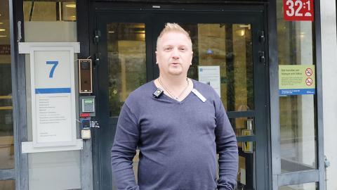 """""""Grundtanken är att hindra smittspridning av hepatit och hiv"""", säger Jesper Zandén, vårdenhetschef på beroendekliniken i Norrköping."""