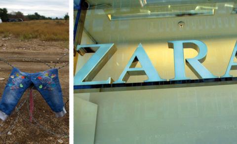 Klädkedjan Zara är en av de företag som använder sig av barnarbete.  Bild:Darko Vojinovic, AP, Hasse Holmberg TT.