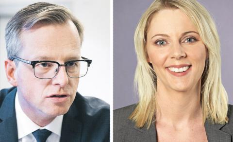Rösta för en kvotering av bolagsstyrelser, uppmanar debattörerna Mikael Damberg (S) och Åsa Westlund (S). Bild: Marcus Ericsson/TT Marcus Kurn