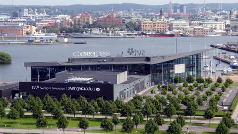 SVT-huset i Göteborg. Bild: Alicia Fagerving