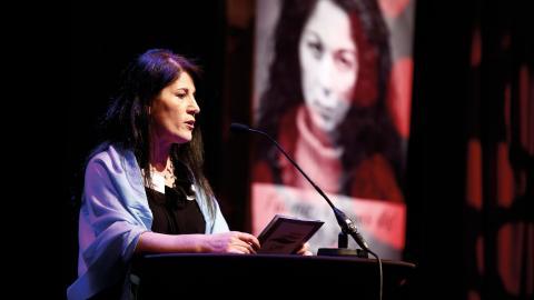 Sarah Mohammad är verksamhetsansvarig för riksorganisationen Glöm aldrig Pela och Fadime, GAPF.  Bild: TT