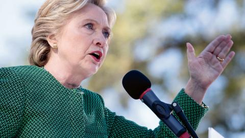 Hillary Clinton. Bild: Stian Lysberg Solum /TT