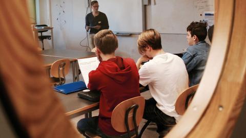Bara 29,2 procent av Borgsmoskolans elever fick godkänt i alla ämnen i våras. I kommunen låg snittet på 73 procent.  Bild: Lisa Karlsson