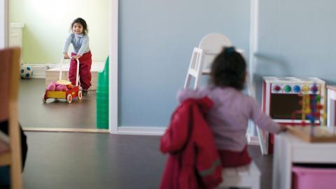 """""""Visst är det svårt att utbilda fram kompetensen att vara en bra pedagog, men vi är övertygade om att utbildningen gör skillnad"""", skriver debattörerna.  Bild: Björn Larsson Rosvall/TT"""