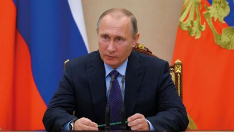 Statsledningen i dagens Ryssland påminner om Tsarryssland före 1917, skriver debattören.  Bild: TT