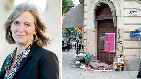 Marika Markovits, Stockholms stadsmission. Bild: Stadsmissionen / Maja Suslin/TT