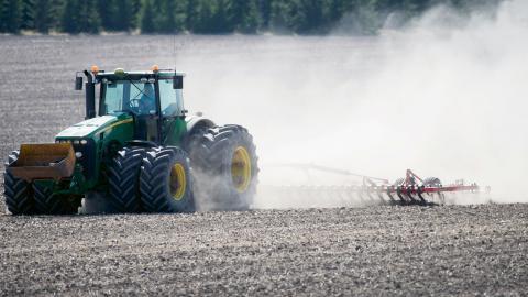 Det storskaliga industriella jordbruket är en av de största bovarna i det klimatdrama som vi nu ser. Alternativet kallas för matsuveränitet och har drivits av småbrukarrörelsen världen över sedan World Food Summit 1996. Bild: Fredrik Sandberg / TT