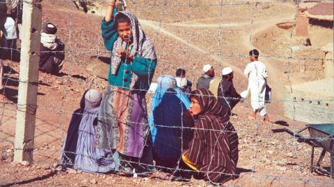 Debattskribenten Åke Johansson har själv arbetat i Afghanistan och den här bilden har han tagit i ett flyktingläger i Pakistan. Bild: Åke Johansson