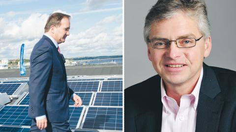 Regeringen har helt övergett tanken om grön skatteväxling, menar dagens debattör Per Åsling (C) Skattepolitisk talesperson bild Fredrik Sandberg/TT