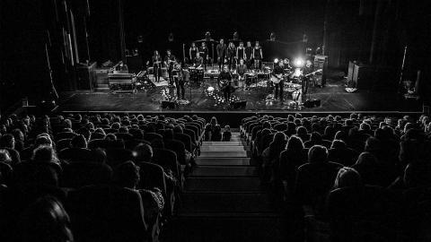 Musikkollektivet Höstorkestern med rötter i Kiruna släpper snart sin proggigaste skiva hittills. Bild: Johan Ylitalo