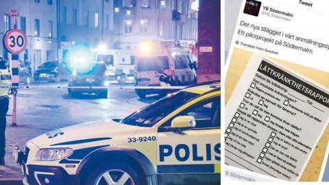 """""""Poliser med offentliga konton på sociala medier riskerar att med sådana här yttranden bidra till minskat förtroende, både till polisen och staten"""", skriver Kevin Shakir. bild Johan Nilsson/TT"""