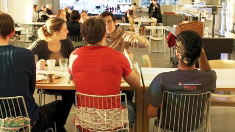 Café Space. Bild: Liselott Holm
